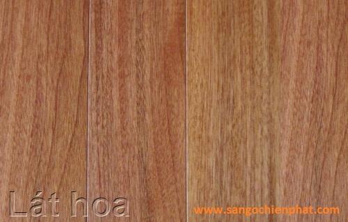 Sàn gỗ Lát Hoa
